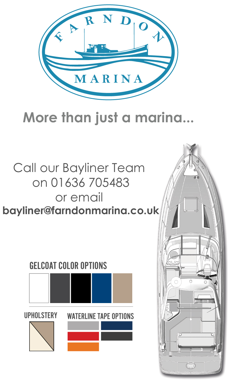 Bayliner boats for sale at Farndon Marina