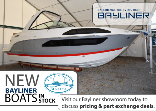 Visit our Bayliner showroom today to  discuss pricing & part exchange deals.