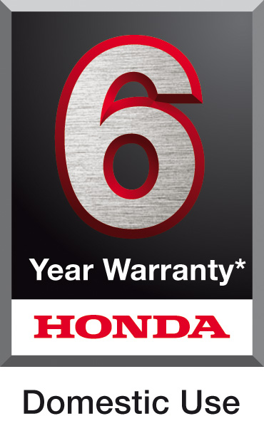6 Year Domestic Warranty