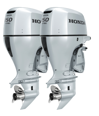Honda 150 Twin 25 Quot Shaft Outboards For Sale