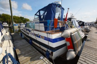 Aquastar Ocean Ranger 33 Sequel Three Quarter Port Stern